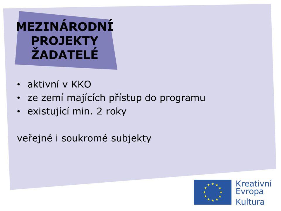 LITERÁRNÍ PŘEKLADY • překlad 3–10 titulů z oblasti beletrie • žádost podává pouze nakladatel • dotace na překlad i na propagaci • kategorie 1: dvouleté projekty, grant max.