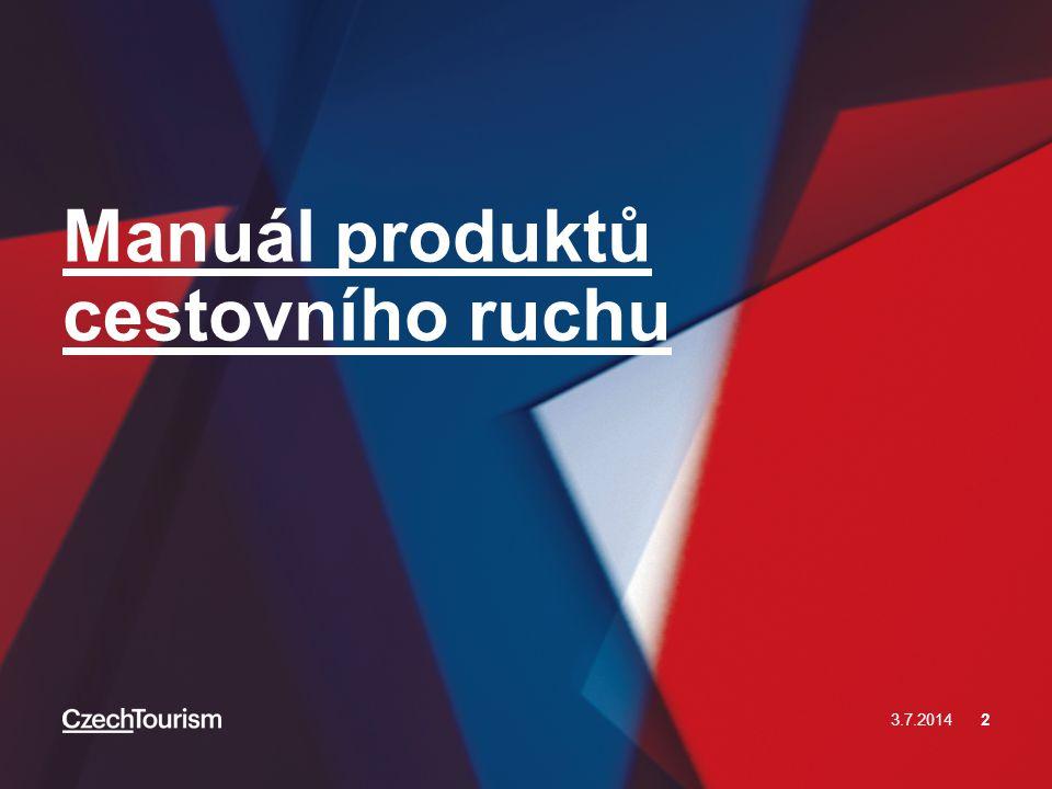 Manuál produktů cestovního ruchu 3.7.20142