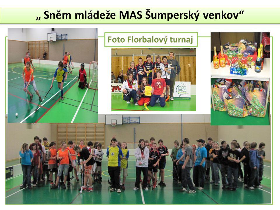 """"""" Sněm mládeže MAS Šumperský venkov"""" Foto Florbalový turnaj"""