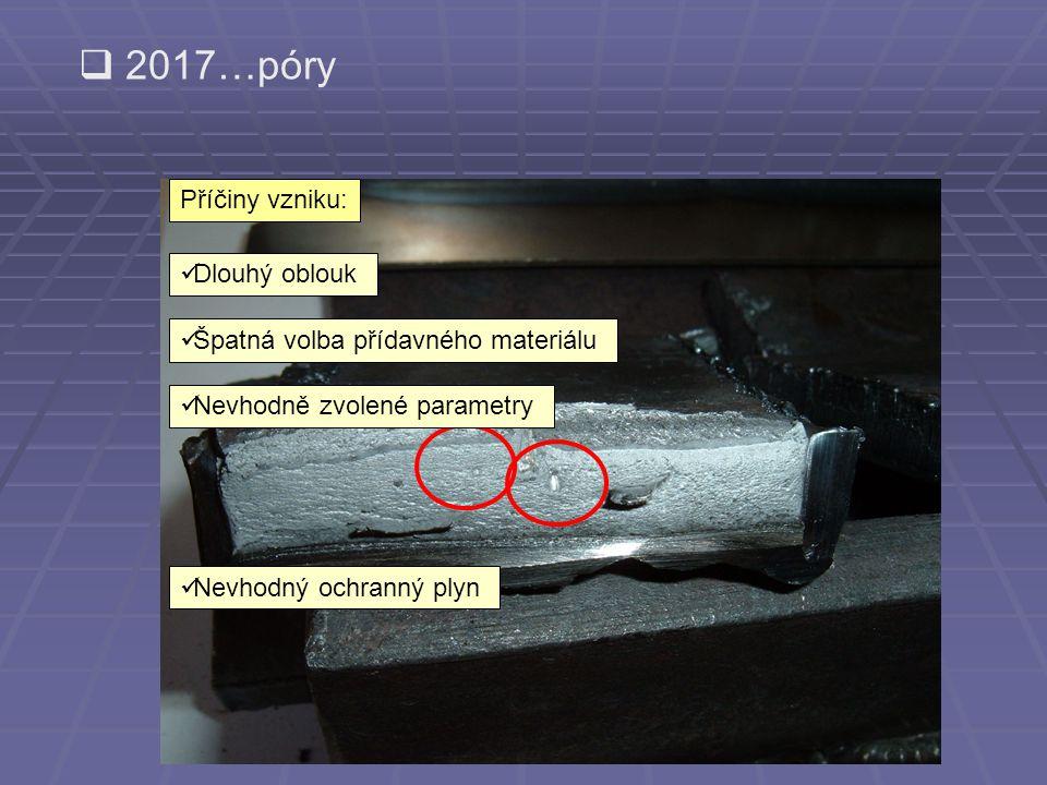  rozstřik kovu  zatavená struska  zápal  přetečený kov
