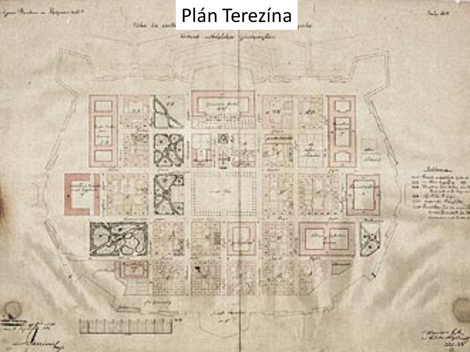 Plán Terezína obr. 16