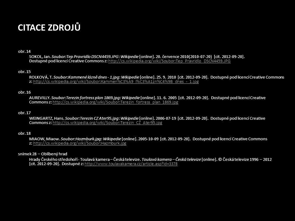 CITACE ZDROJŮ obr. 14 SOKOL, Jan. Soubor:Tep Pravridlo DSCN4459.JPG: Wikipedie [online]. 20. července 2010(2010-07-20) [cit. 2012-09-20]. Dostupné pod