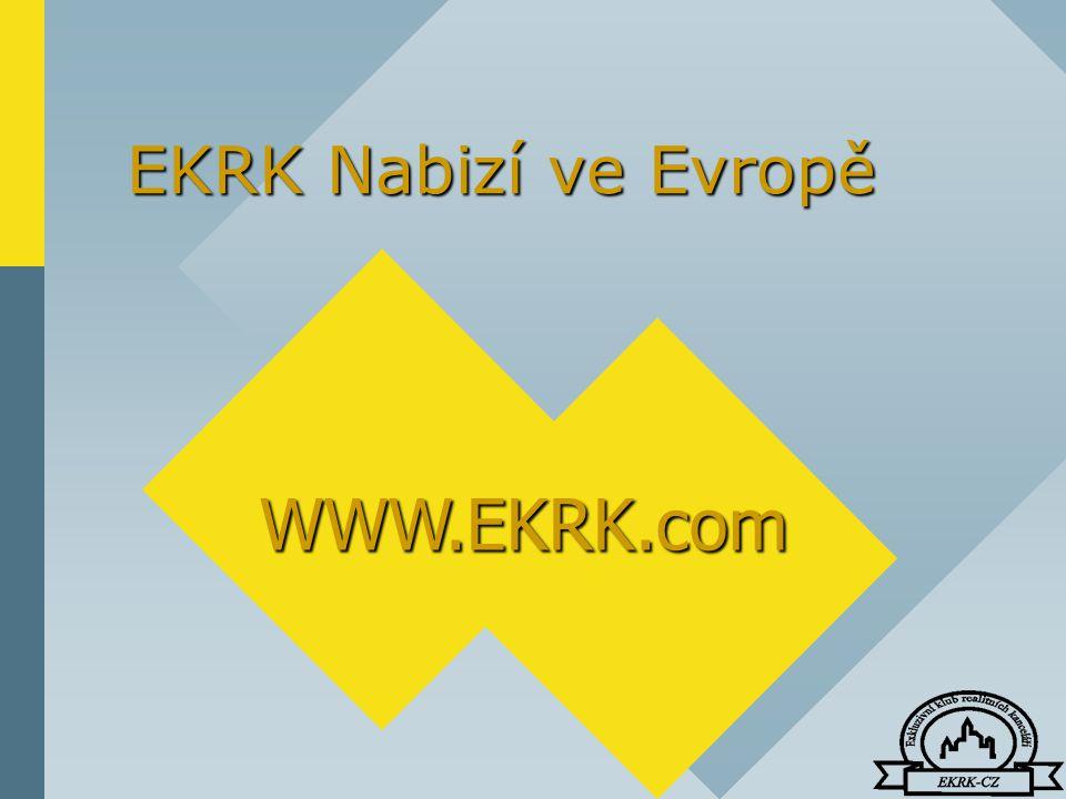 EKRK Nabizí ve Evropě WWW.EKRK.com