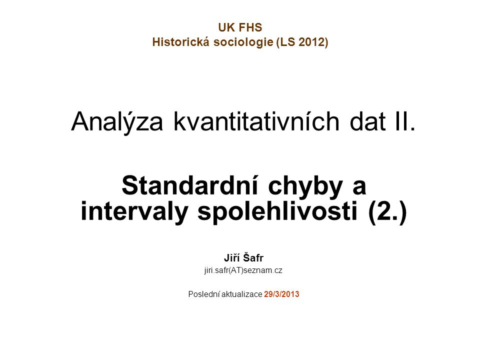 22 Odhad parametru (např.