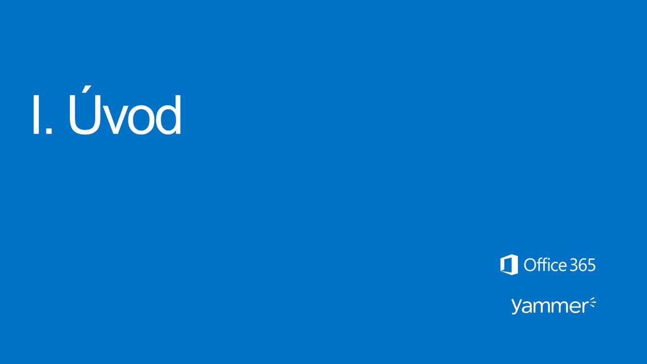 ViewPoint Enterprise ViewPoint Enterprise je partnerská aplikace sítě Yammer, která poskytuje federované zobrazení platforem Yammer a SharePoint ve vaší společnosti.