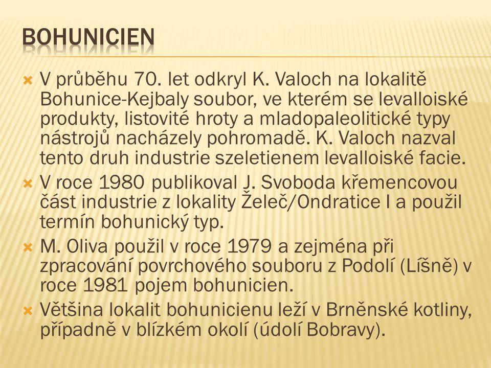  V průběhu 70.let odkryl K.