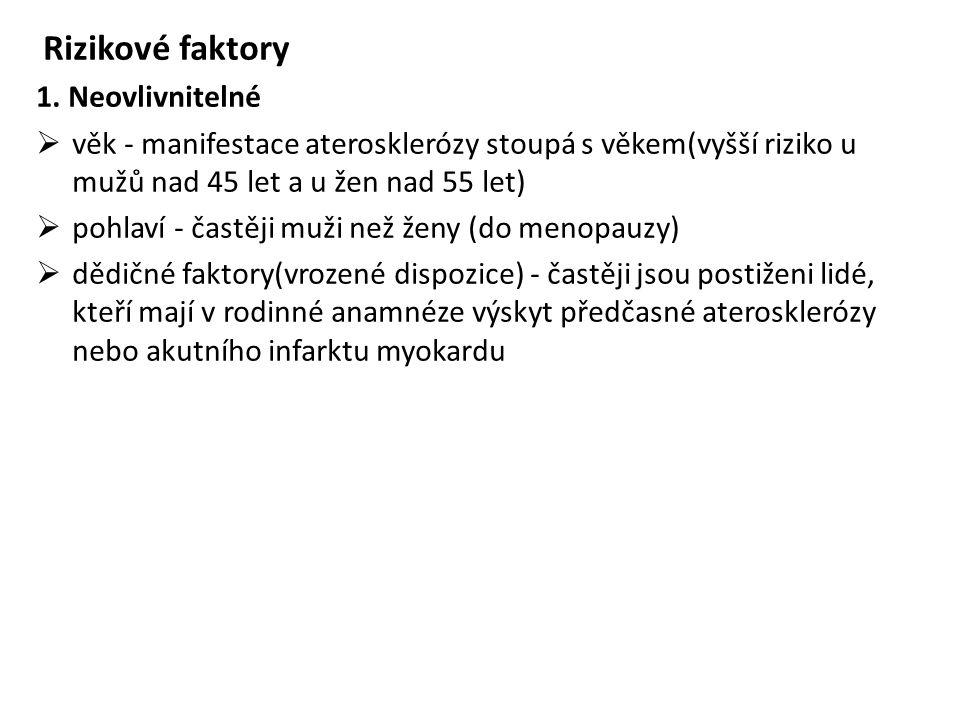 Rizikové faktory 1.