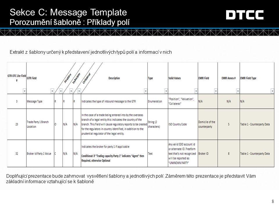 © DTCC 9 Sekce D: Typy reportů ACK/NACK Reports ACK and NACK Reports  Pokaždé, když nahrajete soubor do OTCLite, obdržíte tzv.