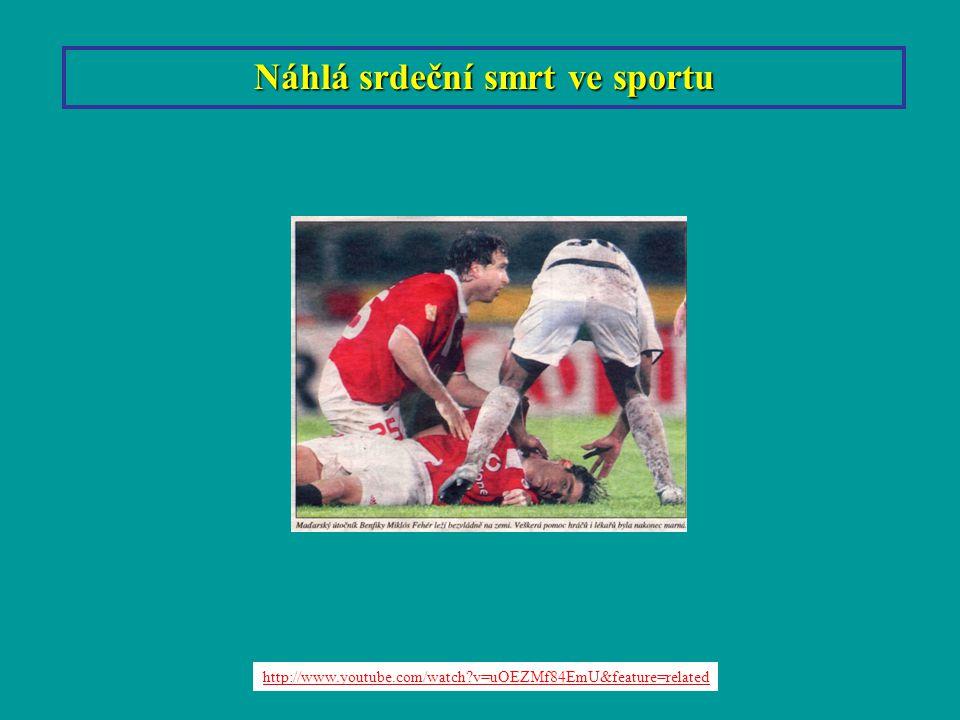 Liberec Náhlá srdeční smrt ve sportu http://www.youtube.com/watch?v=uOEZMf84EmU&feature=related