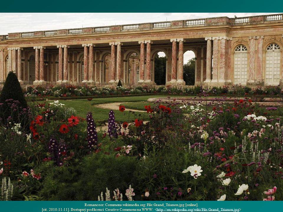 Romanceor: Commons.wikimedia.org: File:Grand_Trianon.jpg [online]. [cit. 2010-11-11]. Dostupný pod licencí Creative Commons na WWW: Romanceor: Commons