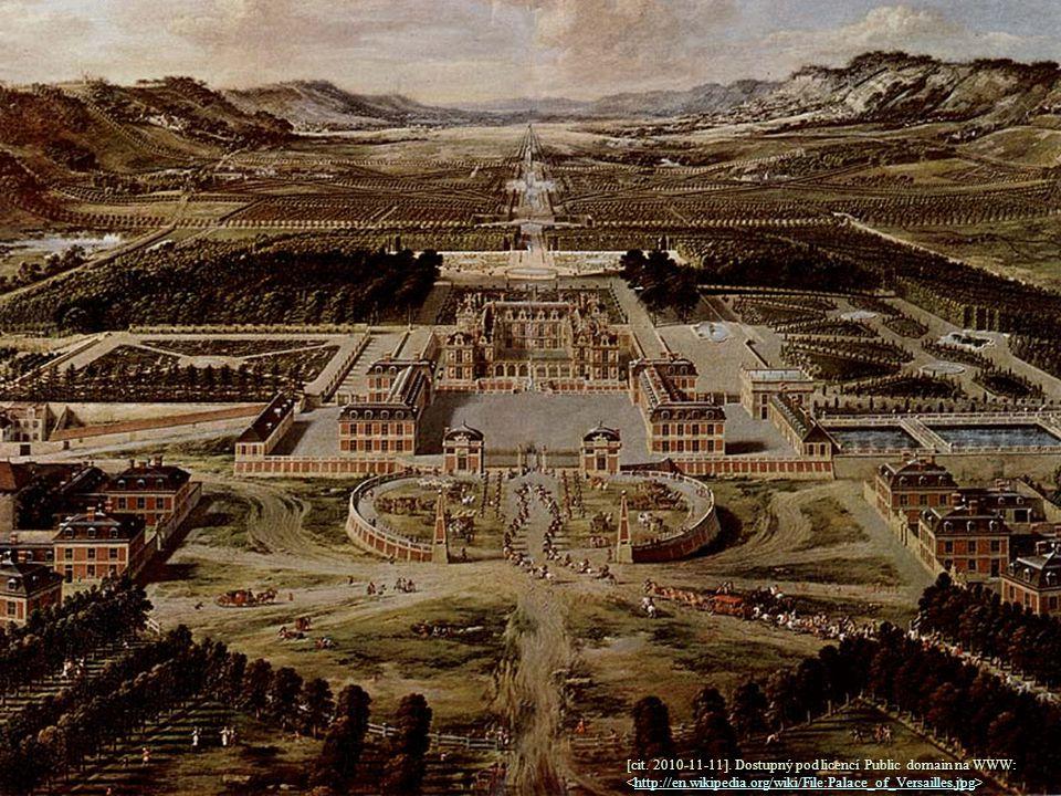 [cit. 2010-11-11]. Dostupný pod licencí Public domain na WWW: http://en.wikipedia.org/wiki/File:Palace_of_Versailles.jpg