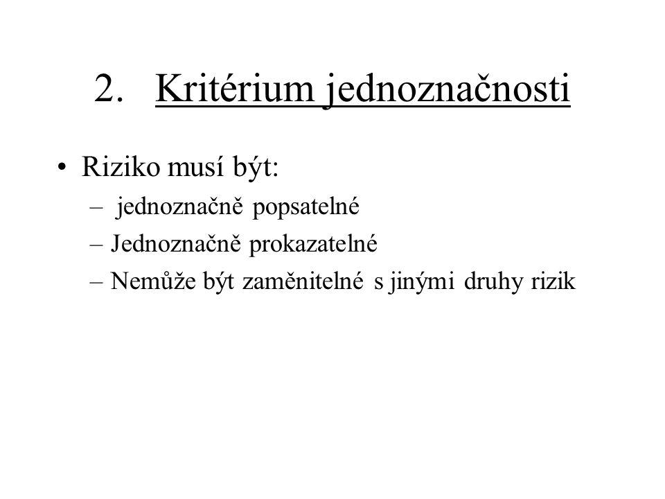 3.Pojištění pro případ přerušení provozu Kryje tzv.