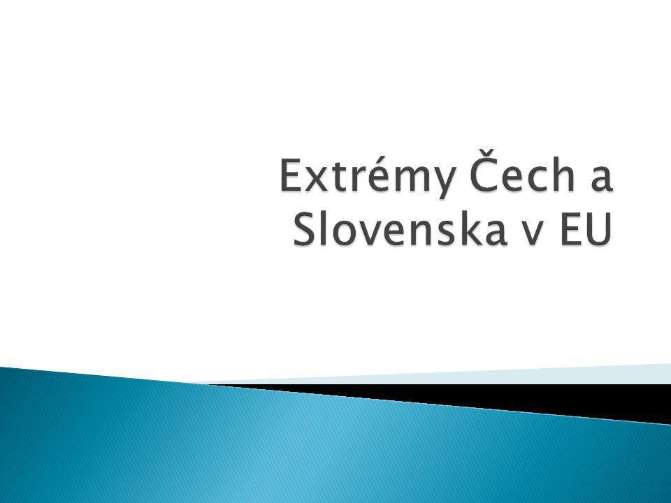 Ze Slovenských prezentací se nás nejvíce zaujaly:  Hodnoty IQ v EU  Platy poslanců v EU  Prodej automobilů a kol  Jak se žije v Evropě  MS hokej