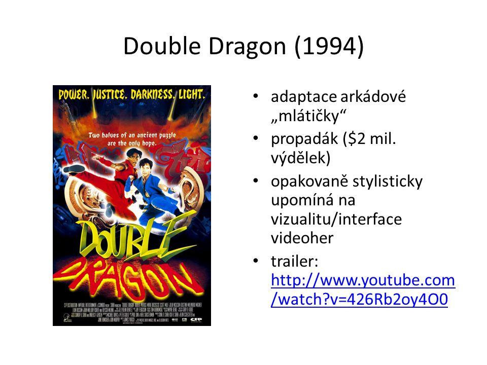 """Double Dragon (1994) adaptace arkádové """"mlátičky propadák ($2 mil."""