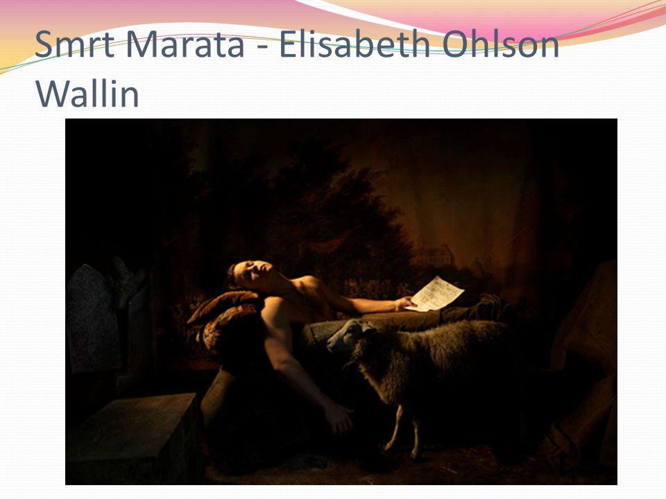 Smrt Marata - Elisabeth Ohlson Wallin
