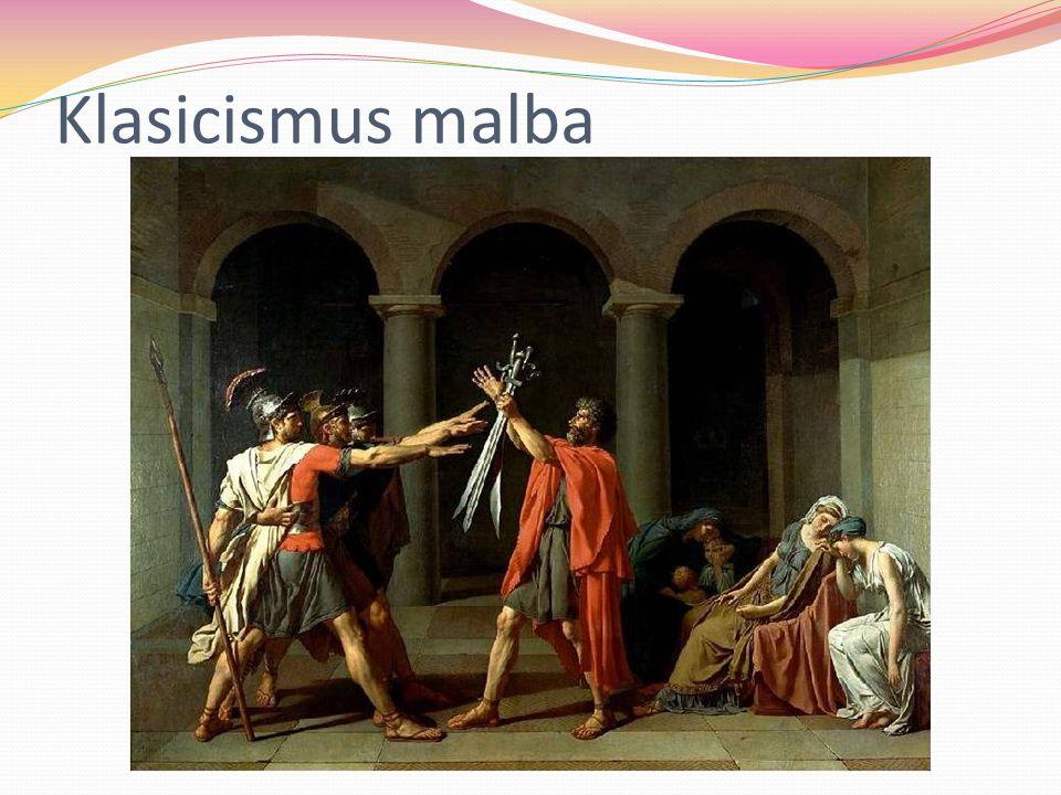 Klasicismus malba