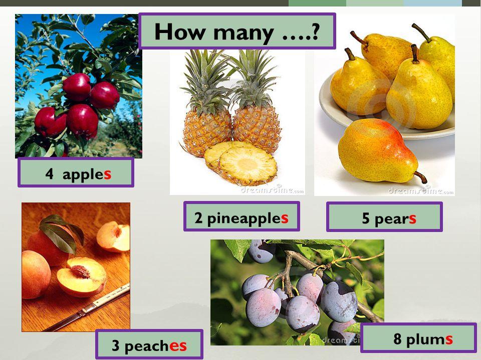 a lot of banana s 3 lemon s 4 orange s