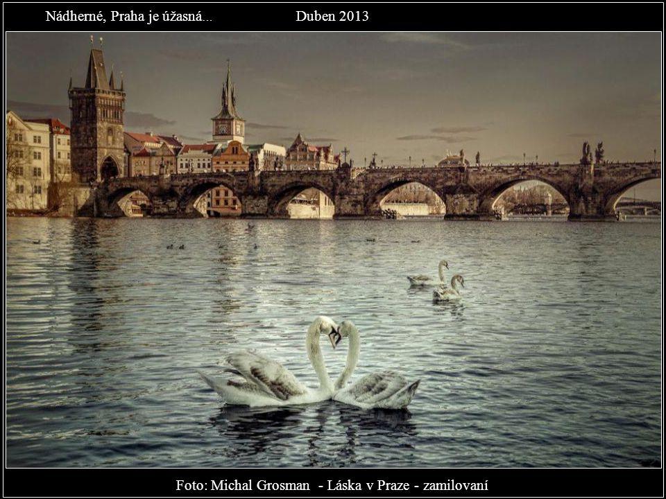 Foto: Michal Fic - Tenhle pohled neomrzí. Kdy jste naposledy šli touto cestou na Hrad? Březen 2013