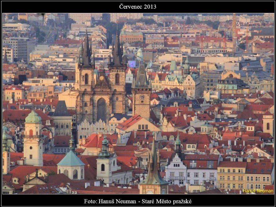 Foto: Michal Fic - Mezi Vyšehradem a Pražským hradem Červenec 2013