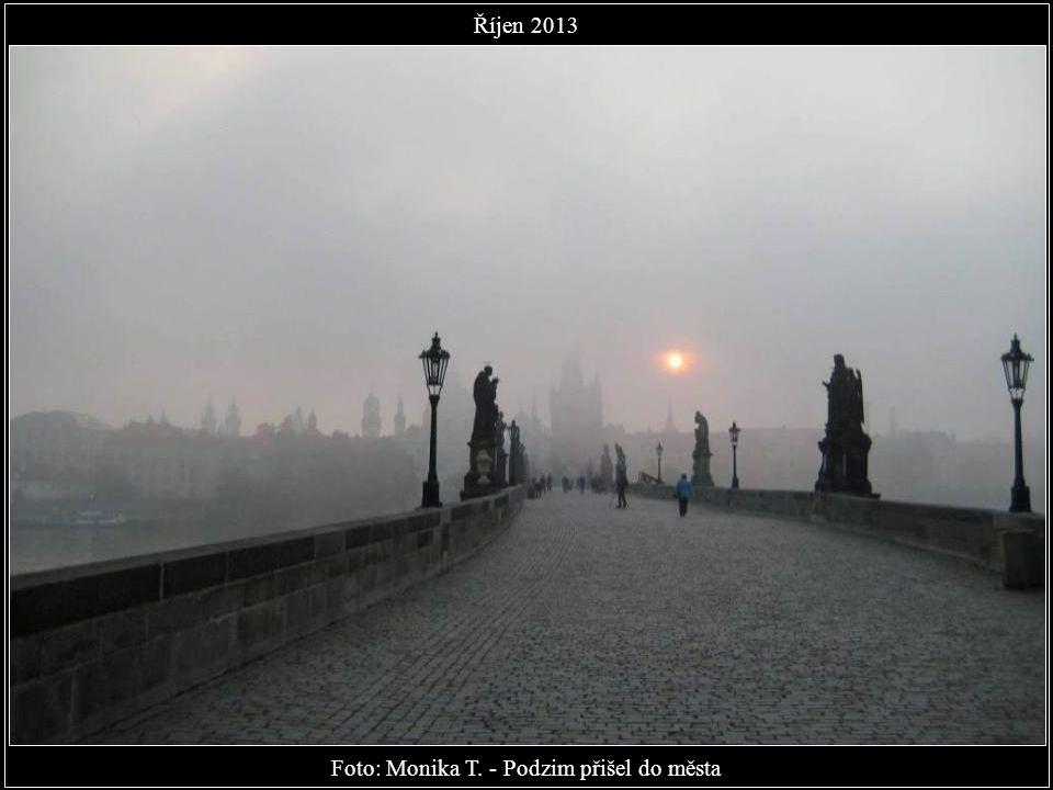 Foto: Marek Kijevský - Západ slunce - Karlův most Říjen 2013