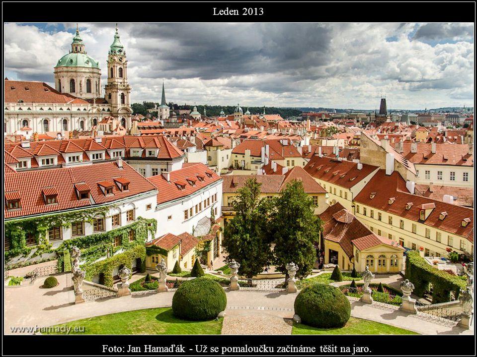 Foto: Michal Grosman - Praha je prostě krásná Leden 2013 Praha je nádherná, opravdu zlatá a naše.