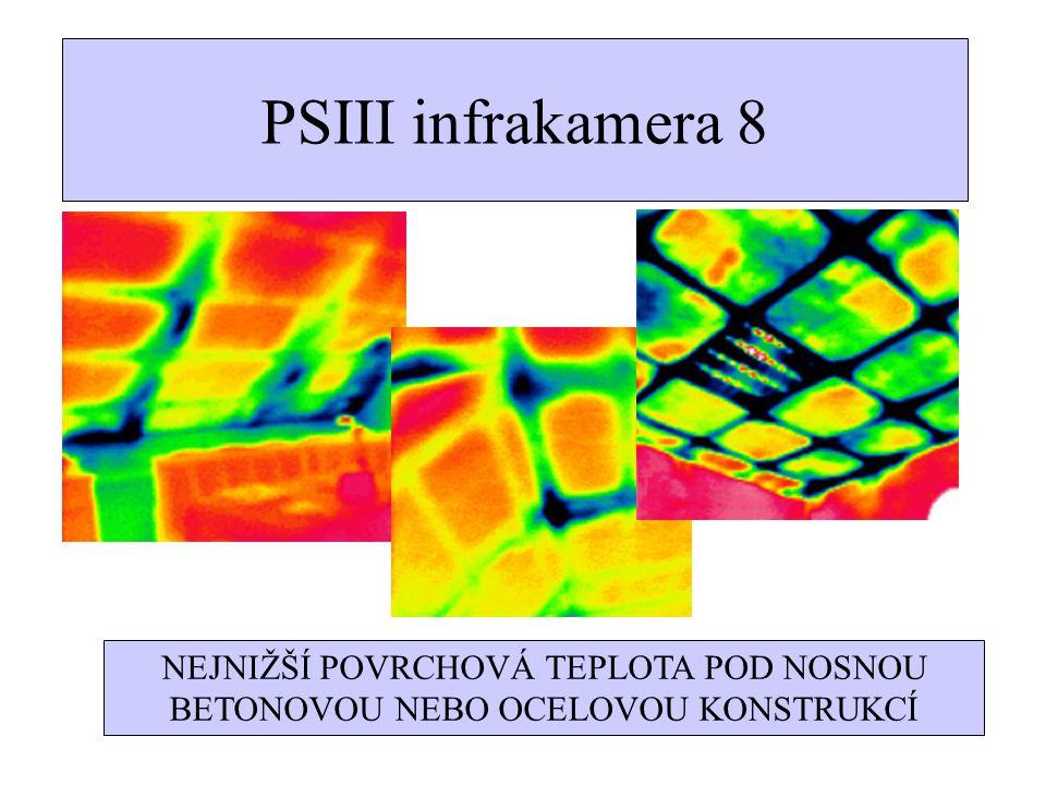 TERMOGRAFIE 2 Při kontrole staveb je nutné doplnit termosnímek fotodokumentací a vyhodnocením snímaného záběru.