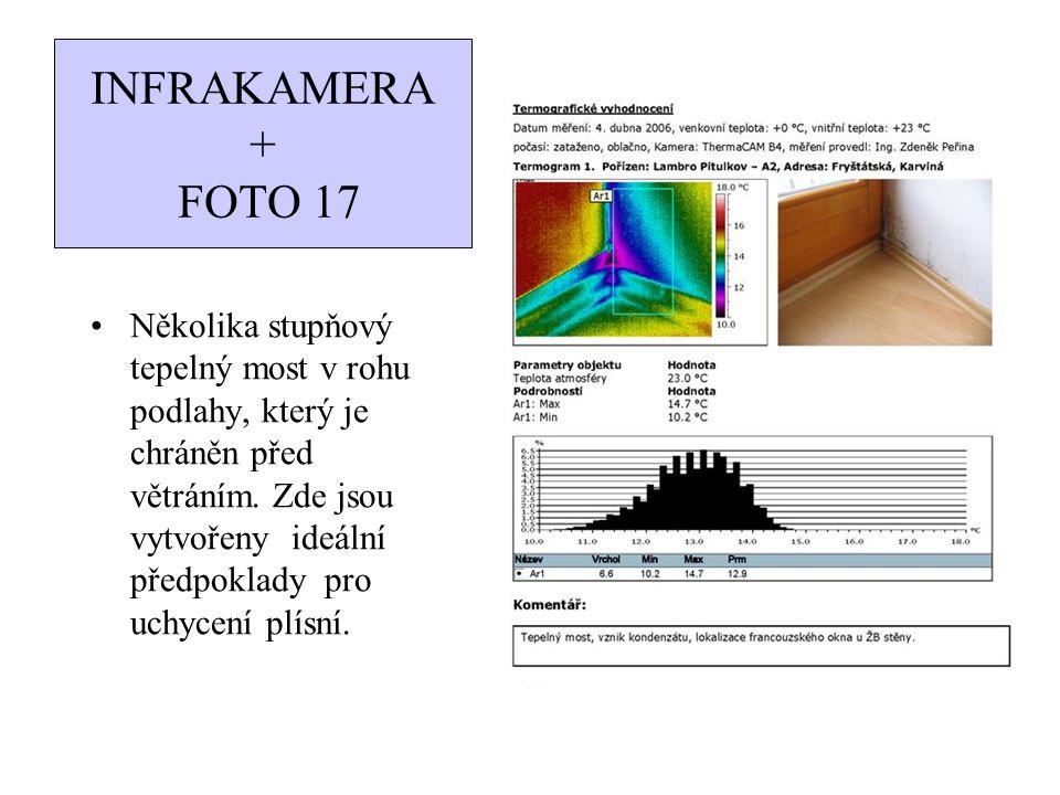 INFRAKAMERA + FOTO 18 Stejný problém jako u předešlé ukázky.