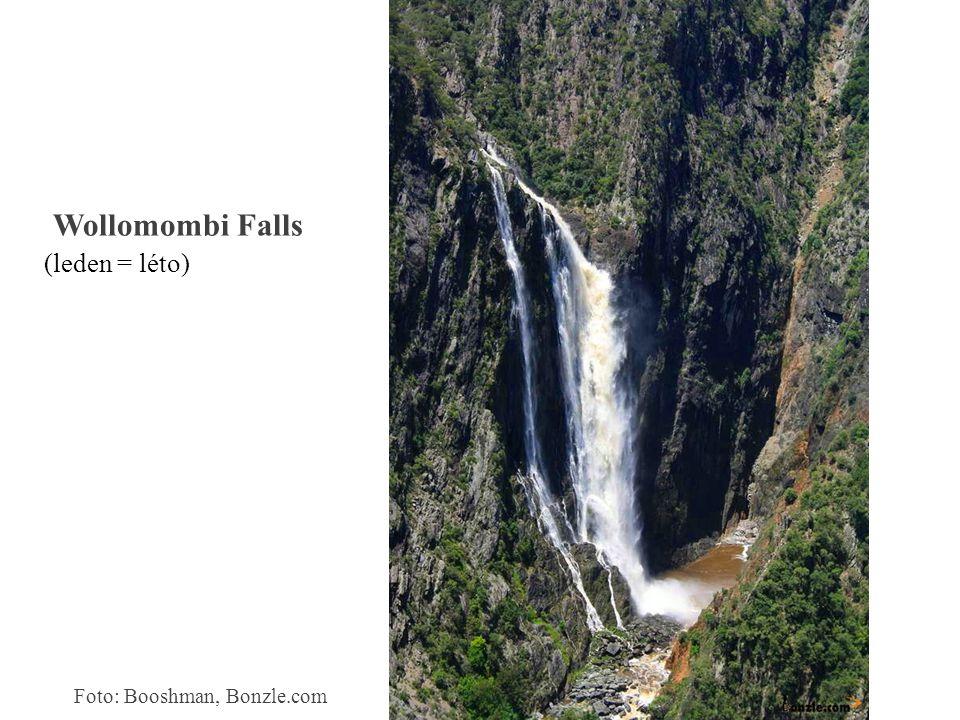Wollomombi Falls (leden = léto) Foto: Booshman, Bonzle.com