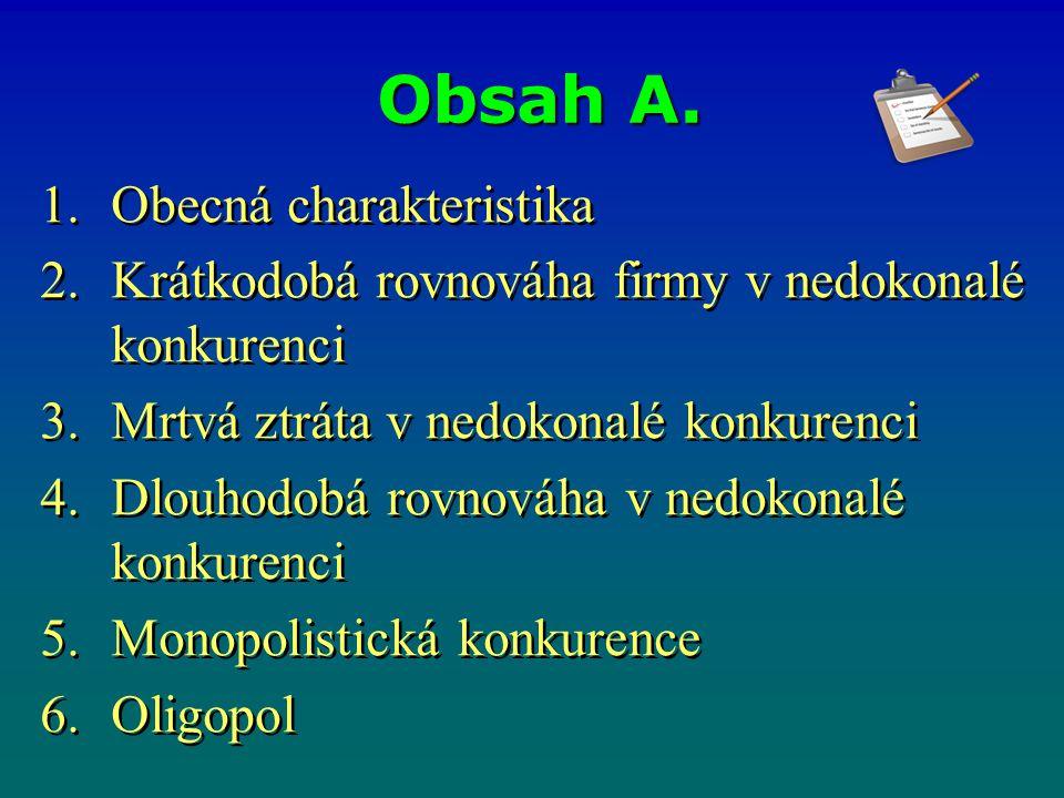 Uveďte příklady: a)trhu s monopolistickou konkurencí, b) oligopolního trhu.