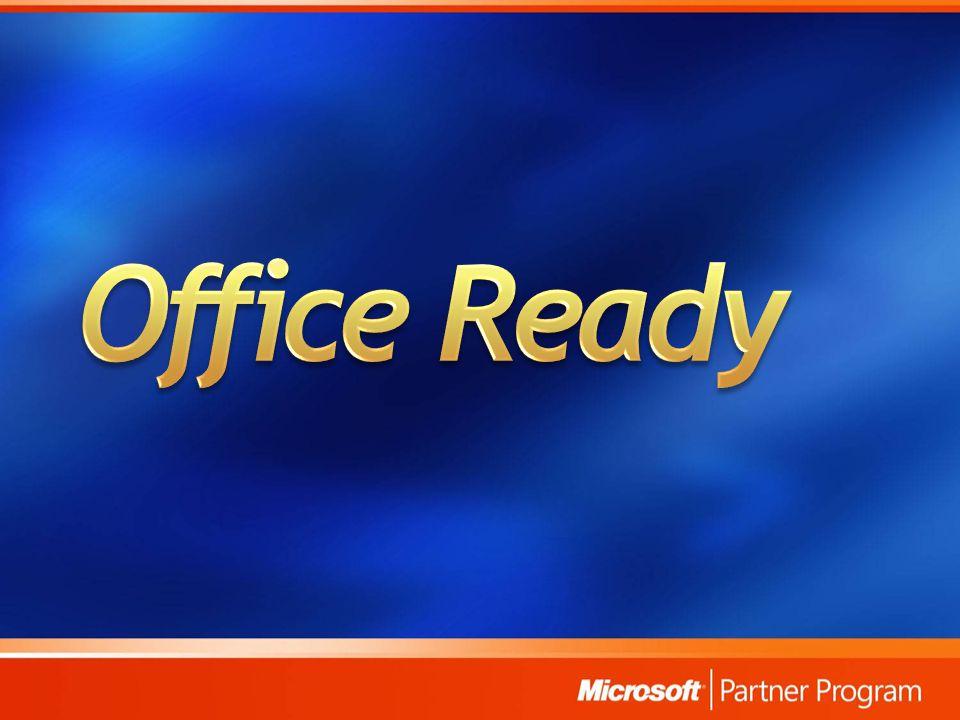 Office Ready – technický průvodce pro SB: http://oem.microsoft.com/static/Czech%20Republic/file/Office_Ready_- _tvorba_bezdotazove_instalace.zip http://oem.microsoft.com/static/Czech%20Republic/file/Office_Ready_- _tvorba_bezdotazove_instalace.zip Office Ready – otázky a odpovědi: http://www.microsoft.com/cze/office/info/faq_officeready.mspx http://www.microsoft.com/cze/office/info/faq_officeready.mspx Co je Office Ready.