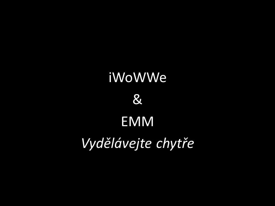 iWoWWe & EMM Vydělávejte chytře