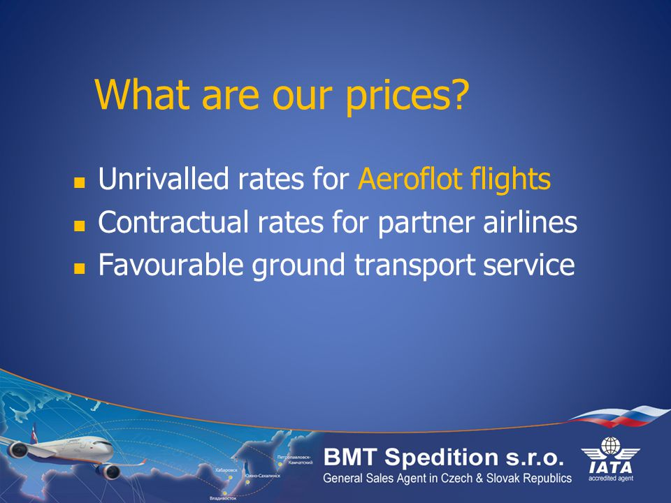 What are our prices.