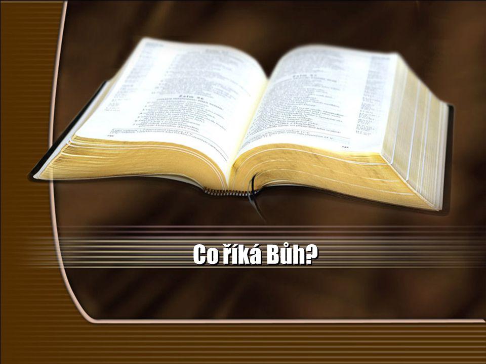 Co říká Bůh?