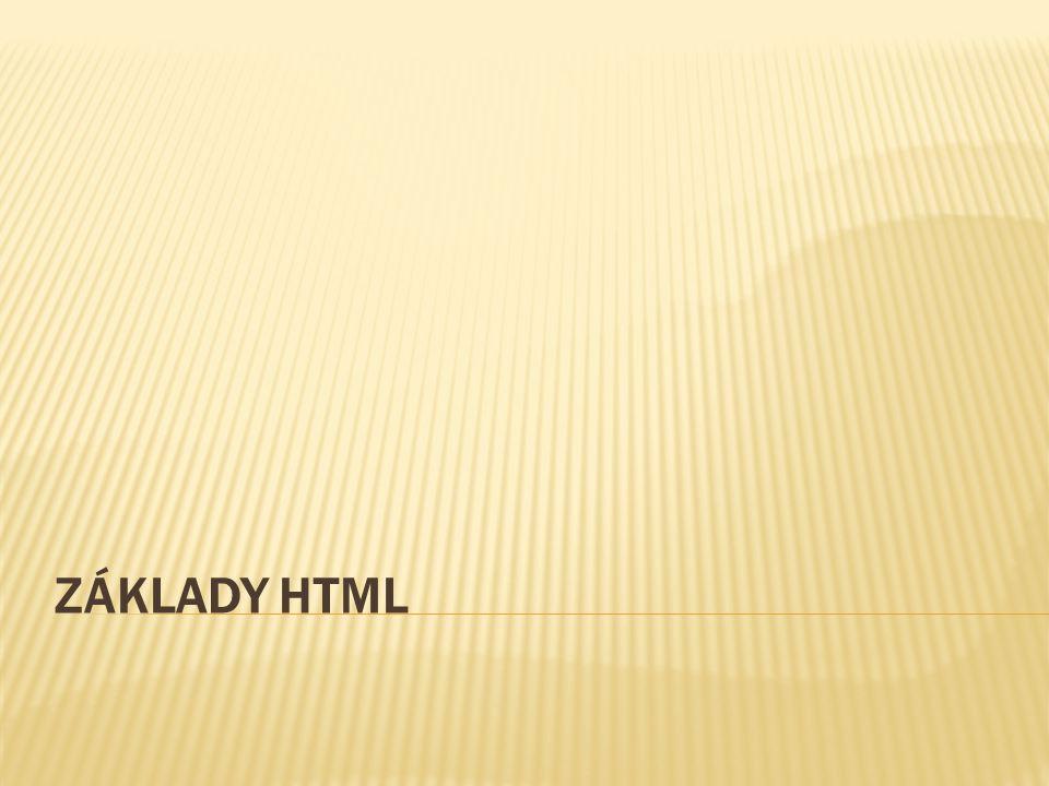 HyperText Markup Language, označovaný zkratkou HTML, je značkovací jazyk pro hypertext.