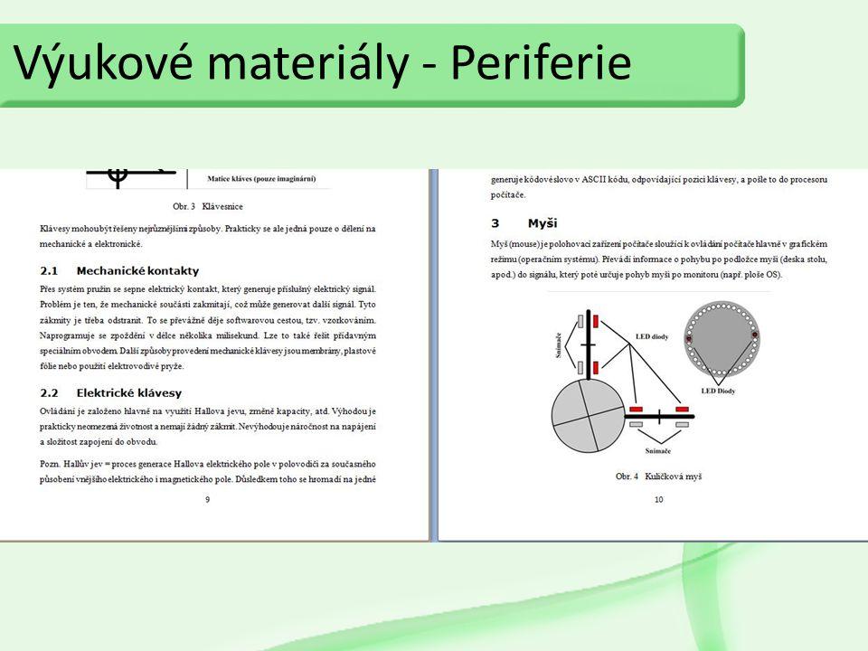 Výukové materiály - Periferie