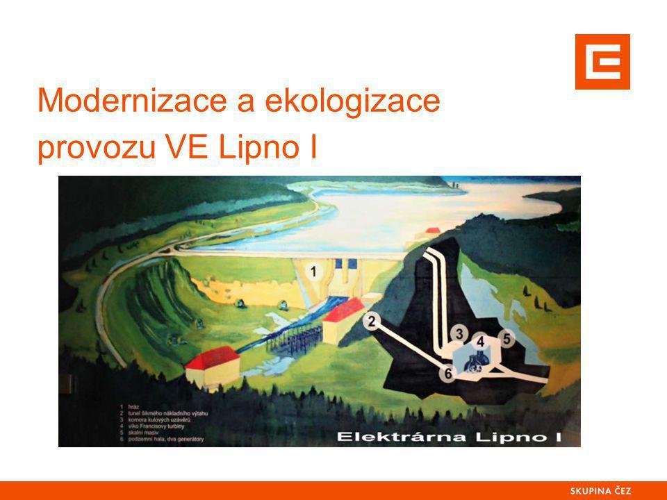 Modernizace a ekologizace provozu VE Lipno I