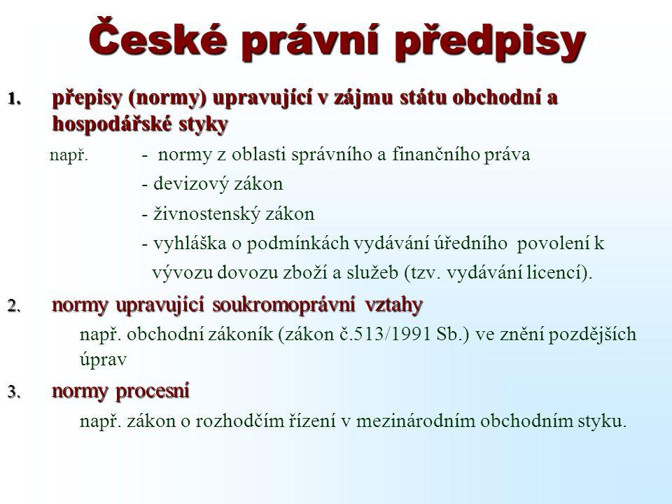 DOVOZ - Faktura na tuzemského odběratele V rámci fakturace pro tuzemské odběratele je třeba rozlišovat : 1.