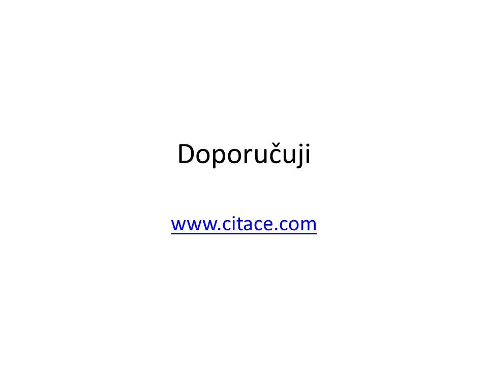 Doporučuji www.citace.com