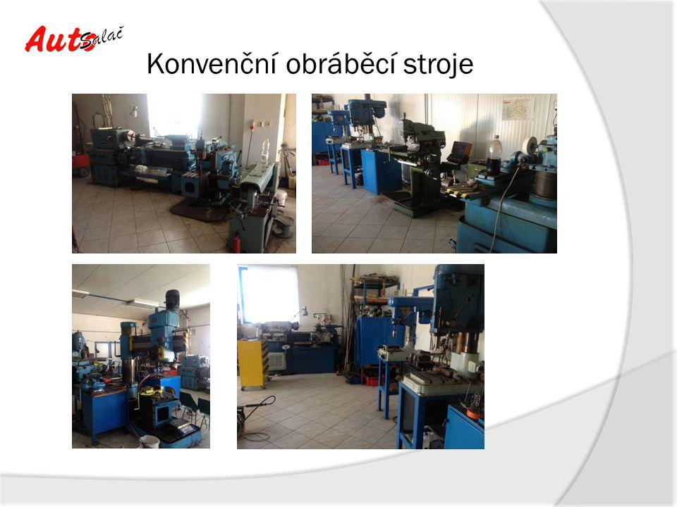 CNC obráběcí stroje Pracovní stůl: rozměr stolu:1 200 x 480 mm max.zatížení stolu:1 300 kg Posuvy: osa X:1 050 mm osa Y:540 mm osa Z:560 mm vzdál.vřetena od stolu:80 - 640 mm rychlost posuvu X, Y, Z:10 m/min rychloposuv X, Y:32 m/min rychloposuv Z:24 m/min přesnost polohování:0,01 mm opakovatelná přesnost:+/- 0,003 mm Údaje stroje: objem nádrže chlazení:350 l celkový příkon:25 kVA spotřeba vzduchu:7 kg/cm2 rozměry stroje (d x š x v):3 300 x 2 280 x 3 130 mm hmotnost stroje:6 600 kg Vřeteno: otáčky:10 000 ot./min.