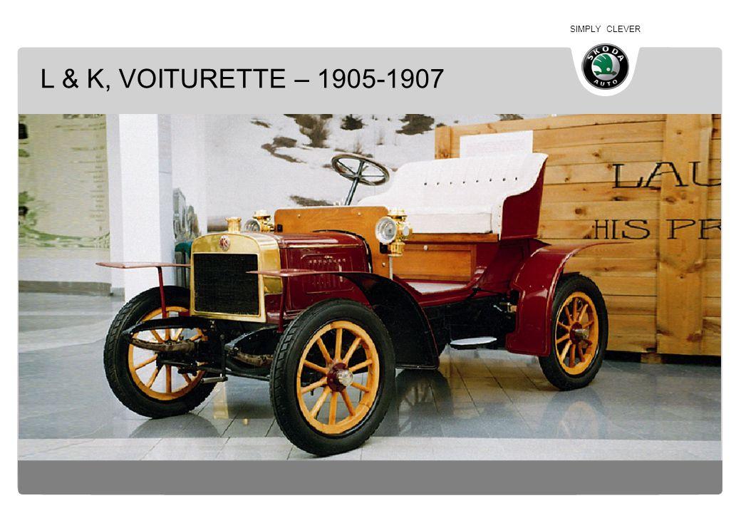 SIMPLY CLEVER L & K, VOITURETTE – 1905-1907
