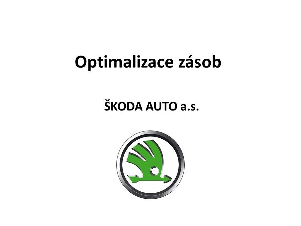 Optimalizace zásob ŠKODA AUTO a.s.