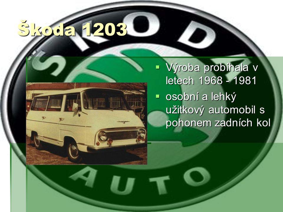 Škoda 100mb/110mb  Výroba probíhala v letech 1969-1980  Byl to nástupce Škody 1000MB/1100MB  Škoda 110 měla vyšší obsah válců  Modernizace Škody 100/110 proběhla v roce 1972-změnily se vnější kliky dveří a vstupní otvor do palivové nádrže