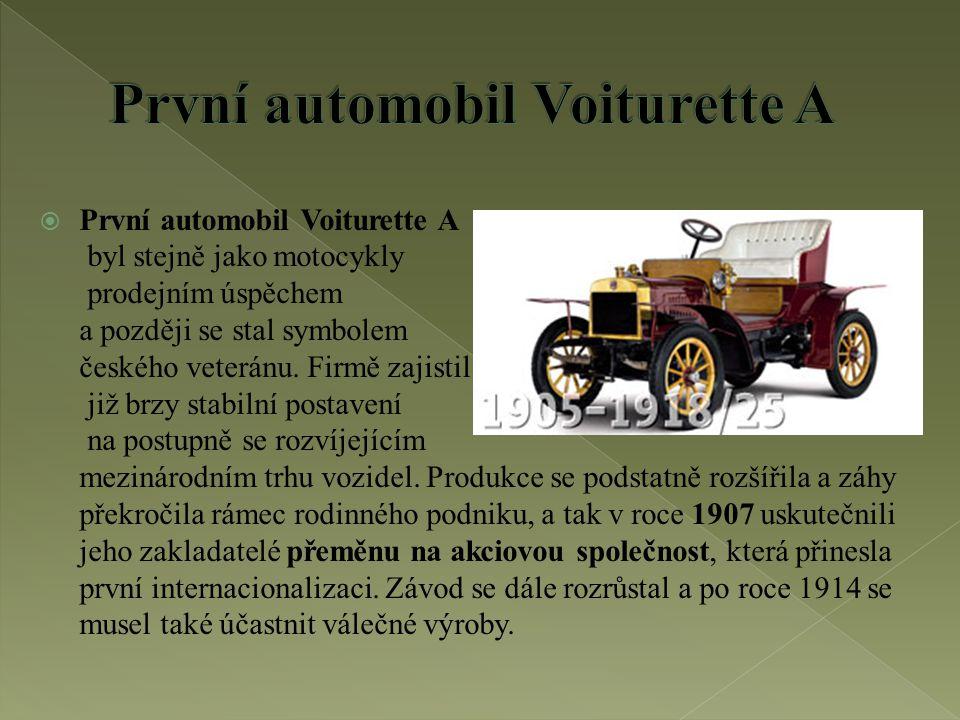  Jen čtyři automobilky na celém světě se mohou pochlubit více jak stoletou nepřerušenou výrobní tradicí.