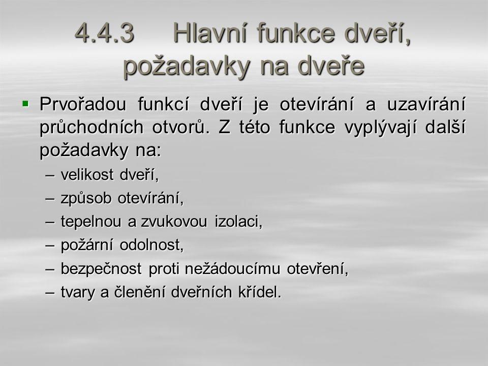 4.4.9.2 Křídla z dřevovláknitých desek  Křídla jsou vyrobena z kombinace masivního dřeva a tvarovaných dřevovláknitých desek.