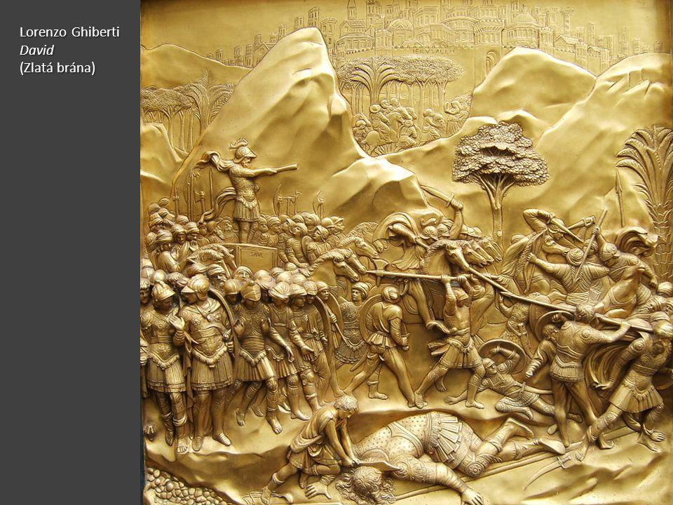 Lorenzo Ghiberti David (Zlatá brána)