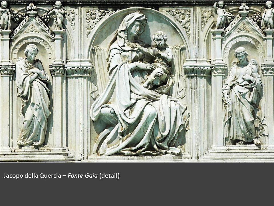 Jacopo della Quercia – Fonte Gaia (detail)