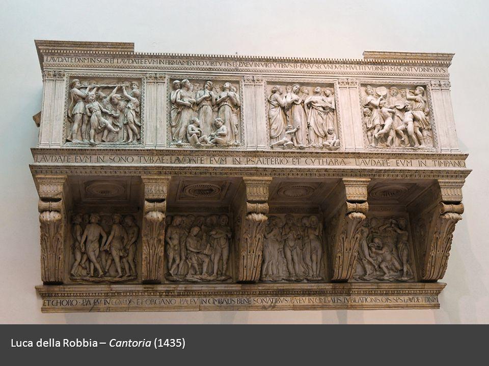 Luca della Robbia – Cantoria (1435)