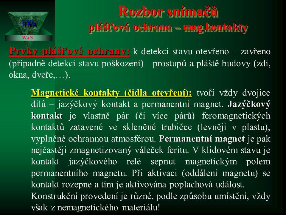 Laboratoř výpočetních aplikací Technické fakulty ČZU LVALVA Elektronické zabezpečovací systémy I. 2. přednáška Ing. Zdeněk Votruba