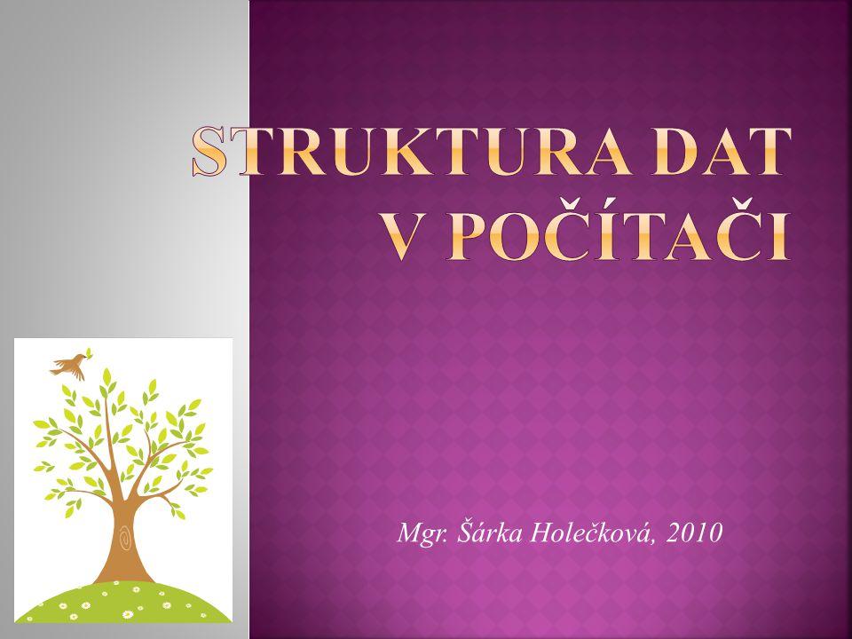 Mgr. Šárka Holečková, 2010