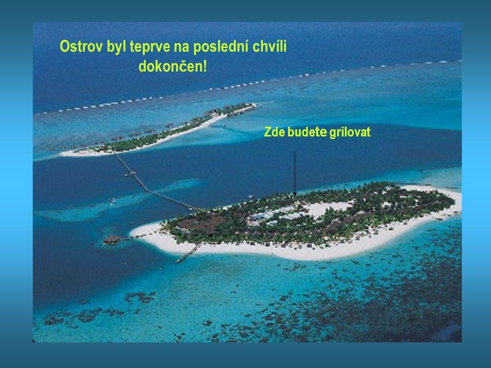 V áš cíl: Tichý oceán Ubytovny